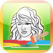 Coloring Book Celebrities