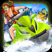 A Zombie Soaker Race War: Fun Jet Ski Bike`s Run and Shoot Adventure Game! - Pro Edition