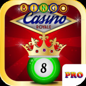 Bingo Royale Pro - A Free Bingo Games with Multiple Bingo Cards! - Las Vegas Edition
