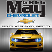 Greg May Chevrolet for iPad