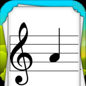 Kids Music Note Flash Cards