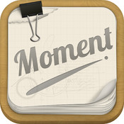 Moment-Record every moment with time. moment