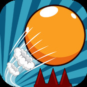 Super Skee Ball Bounce - Avoid the Red Spikes!