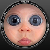 Bugeye Booth free - Bigger Eyes Retouch - Photo Beautifier
