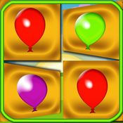 Memory Colors Balloons Cards - Flash Cards Balloons Game - The Best Cards Game