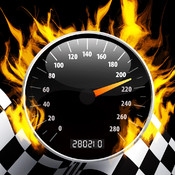 Speedometer tracker - Advanced speedometer+ gps . The ultimate speed test.