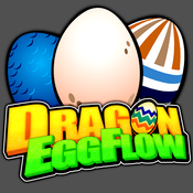 Dragon Eggs flow mania - Connect the matching eggs loop fun! flippin eggs