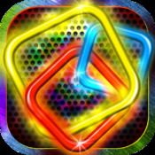 Neon Squared (Neon x Neon) - amazing free cool match-3 glow game