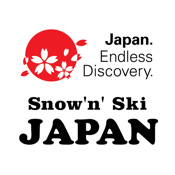 Snow`n` Ski JAPAN japan physical map