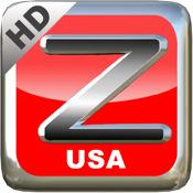 ZorroGPS HD USA usa dash hd
