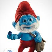 The Smurfs Zuma zuma xp theme