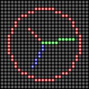Analog LED Clock