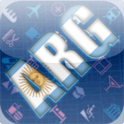 Argentina Map HD lan argentina