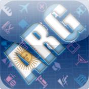 Argentina Map HD