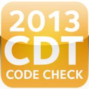CDT Code Check 2013