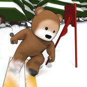 Hedge Loves to Ski