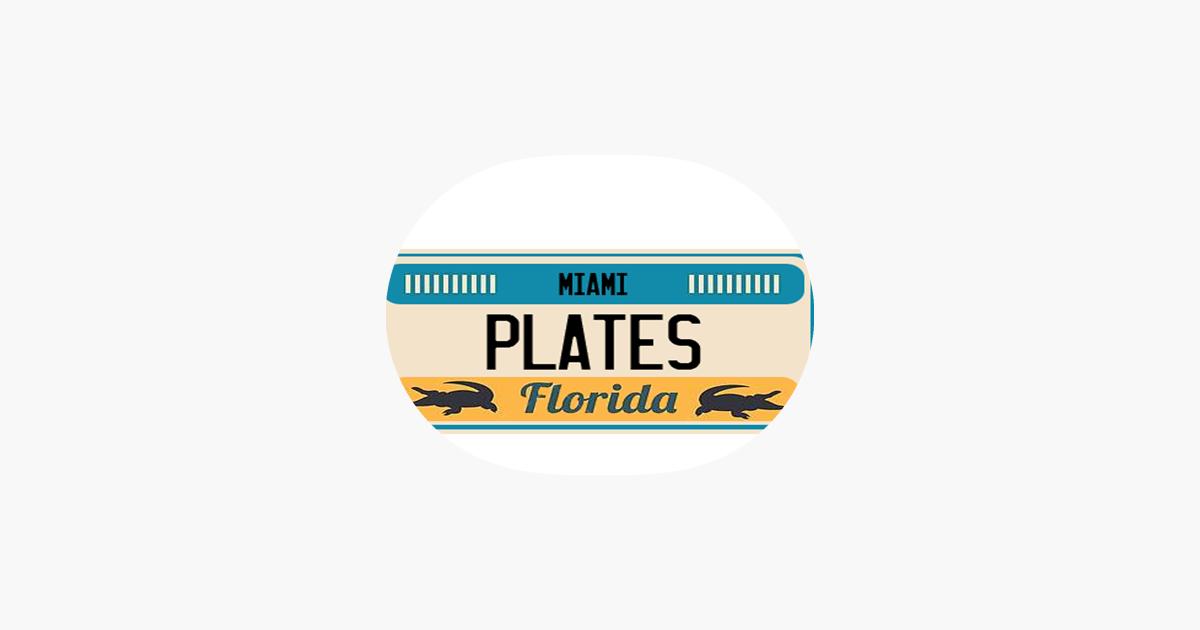 CAR PLATE Sticker Pack