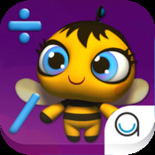 Beehive Math Game for 1st - First Grade & 2nd - Second Grade Kids by Agnitus