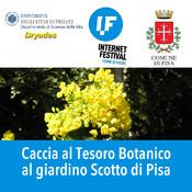 Caccia al Tesoro Botanico al Giardino Scotto di Pisa