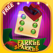 Ace Dice 10 000 Farkle Sparkle Pro: A Classic Dice Family Board-Game With A Twist (FREE) 10000 dice game s