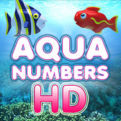 Aqua Numbers HD - Kids First Numbers Counting Game point numbers