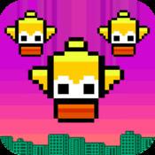 Floppy Fall - A Tinyfly Flappy Nyan Bird Resurrection