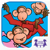 Five Little Monkeys Jumping On The Bed – A Twin Sisters Animated Storybook
