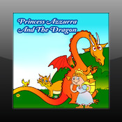 Princess Azzurra And The Dragon kids story with fun games and animation dragon story valentines day