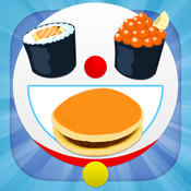 Kitchen Foods Game for Doraemon Edition foods and