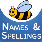 Names and Spellings: Learn Spellings with Alphabet Phonics of Animals, Colors, Shapes and many more! For Kids in Preschool, Montessori and Kindergarten