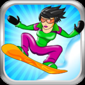 Avalanche Mountain - An Epic Snowboarding Racing Game with penguins, babies and more! penguins game