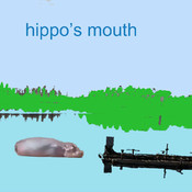 hippo`s mouth