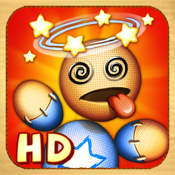 Kick the Buddy HD kick in the balls