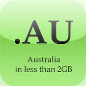 <2GB Australia Map