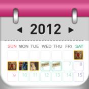 Decorative Diary calendar diary period