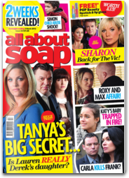 All About Soap UK soap web
