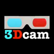 3-D Glasses Camera movie making digital overlay