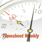 Timesheet Weekly timesheet policy