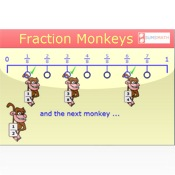 Fraction Monkeys free fraction worksheets