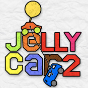 JellyCar 2 on iPad