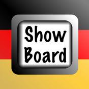 German Show Board
