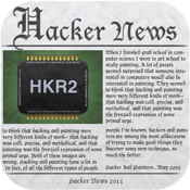Hacker News Paper password hacker software