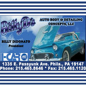 Billy Ds Auto Body auto body painting