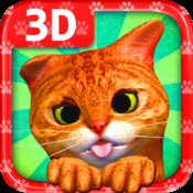 The agile and nimble cat - 3D e-Book with interactive format - HAPPY BOOK electronic book format