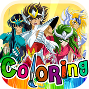 Coloring Book Anime & Manga Painting Pictures on Saint Seiya Free! Edition epub electronic book