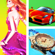 My New Brand – Guess famous retail logos, luxury ozsale cars and fashionable polyvore clothes