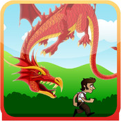 Furious Dragon Run, Running from Angry fantasy Dragons in 3D through Caves and Temples