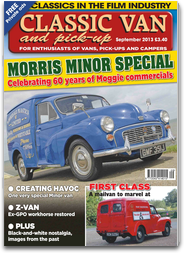 Classic Van & Pick Up - The car based and campervan magazine