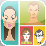 A Guess The Celebrity Quiz Trivia - Movie, Tv, Sport Star Caricature Photo Image