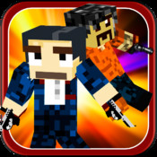 Skins Shooter Survival Game - Craft Your Driving Racing With Pixel Cars